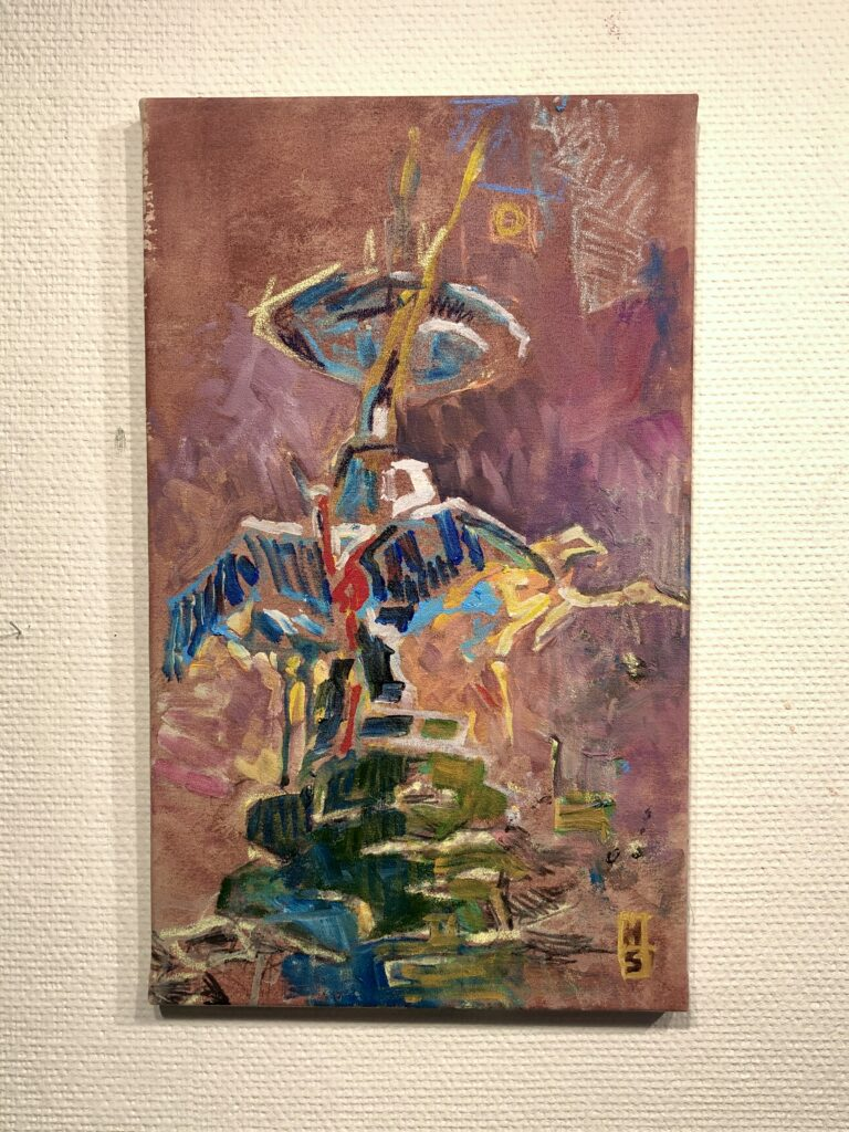 Storkespring 2019 57x34 cm