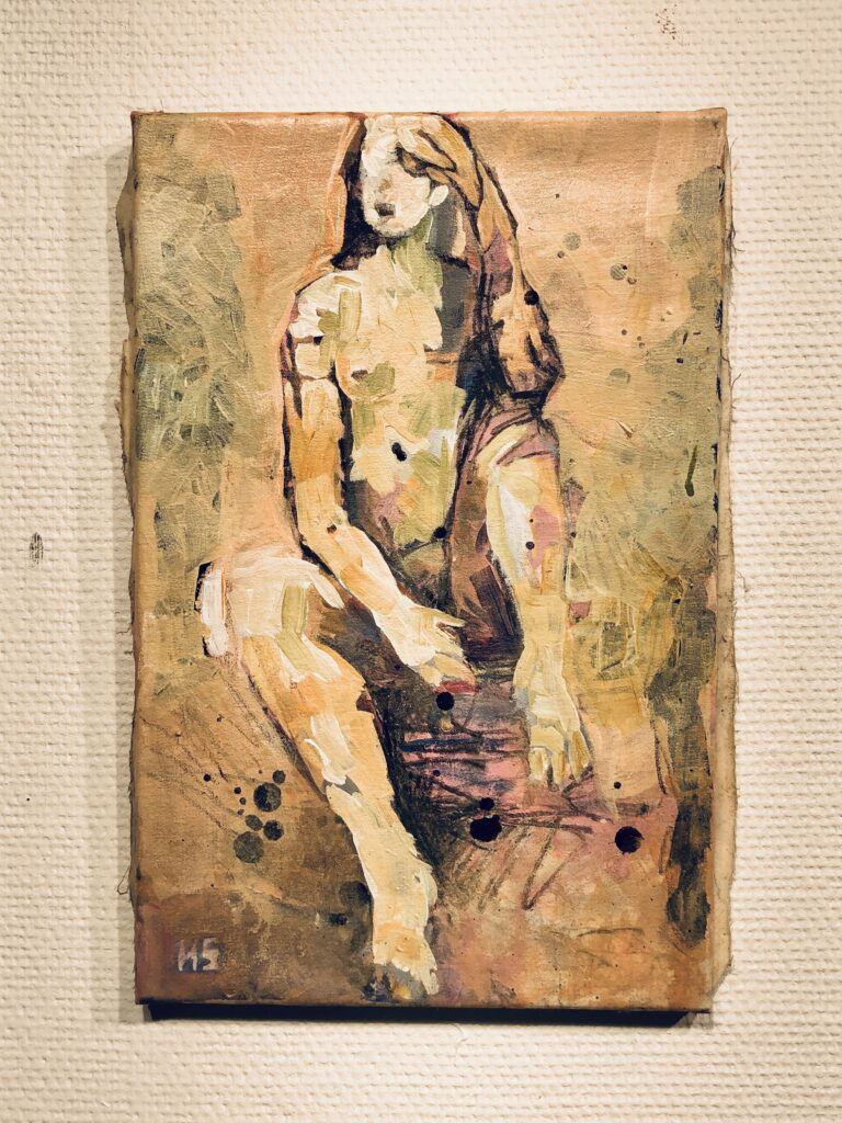 Shy & naked 2016 43x28 cm
